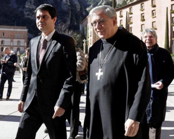 El abad de Montserrat, Josep María Soler, en una imagen reciente.