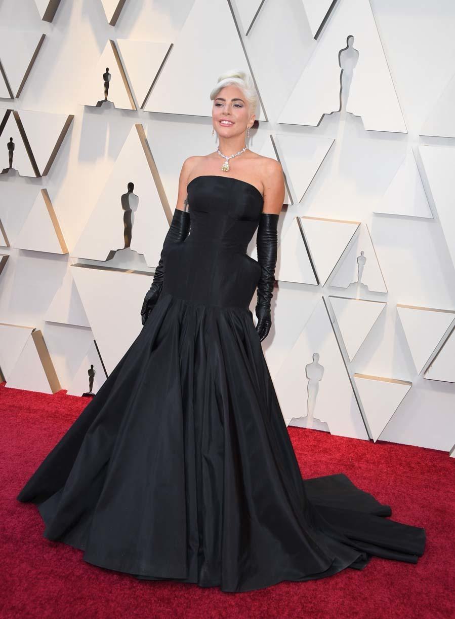 El vestido de Lady Gaga es una recreación del vestido que...