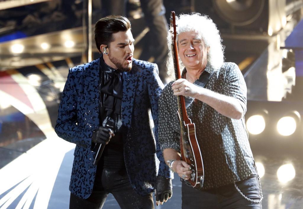 Oscars 2019: Brian May y Adam Lambert en la actuación de Queen