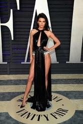 La top fue una de las protagonistas  de la fiesta, con un vestido de...