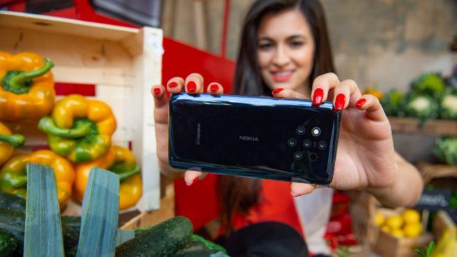 La fiebre de las cámaras continúa y Nokia apuesta por cinco