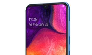 Galaxy A50, el único móvil de Samsung para el Mobile World Congress