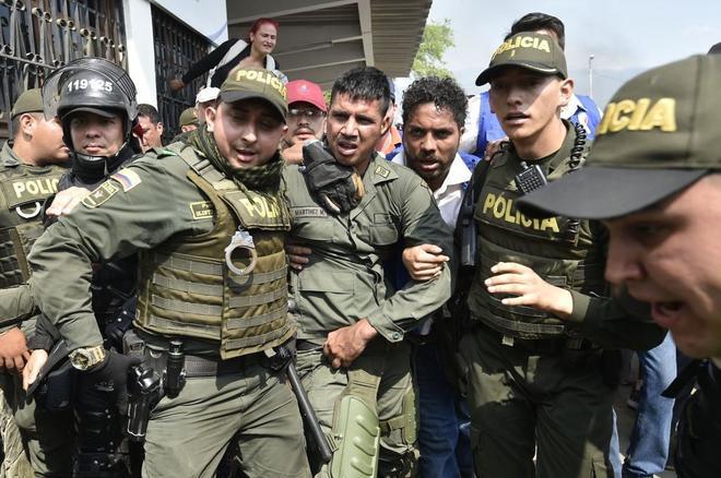 Resultado de imagen para goteo militar Venezuela