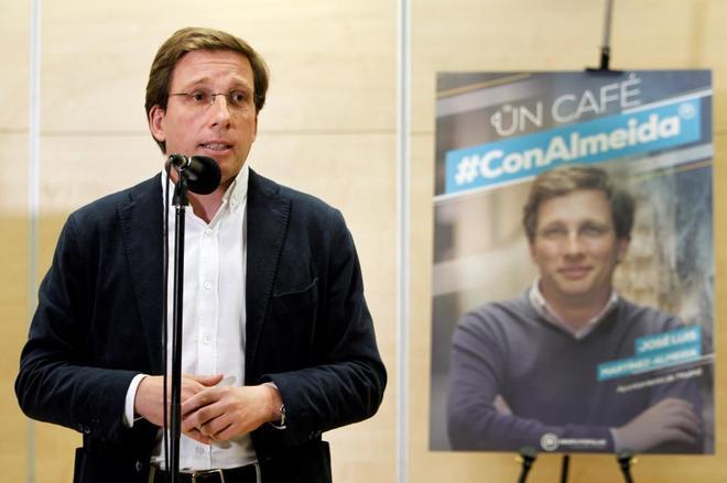 José Luis Martínez-Almeida, candidato del PP.
