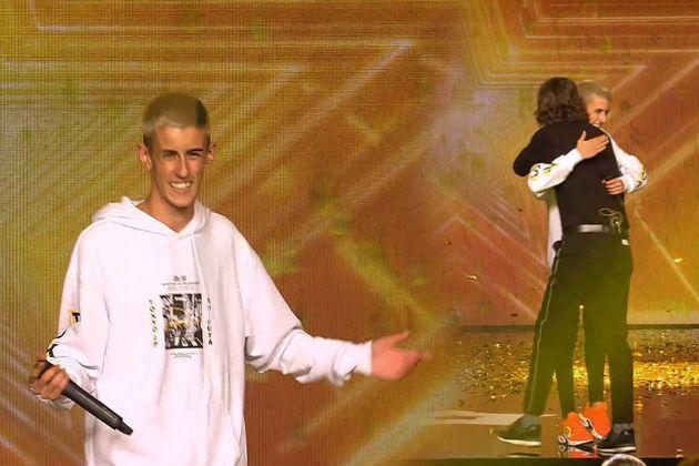 El Cejas fue salvado por Santi Millán en Got Talent de Telecinco