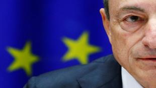El presidente del BCE, Mario Draghi, en una rueda de prensa reciente en Fráncfort.