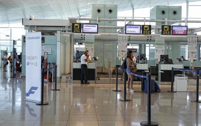 Aeropuerto de El Prat de Barcelona.