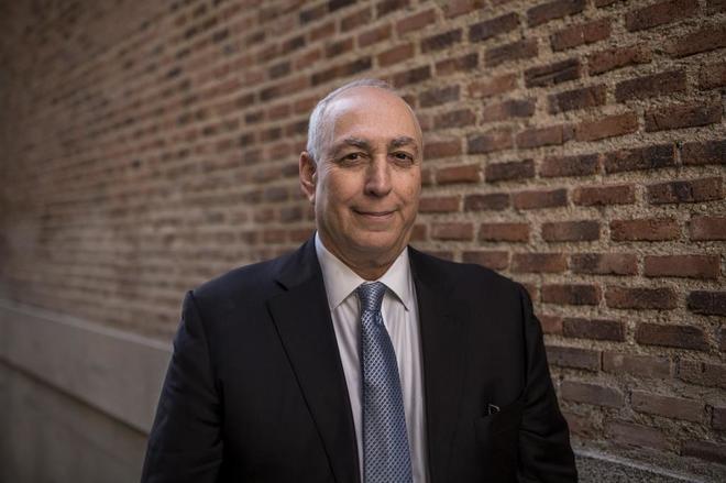 Chemi Peres, hijo del fallecido presidente de Israel Simon Peres, en Madrid.