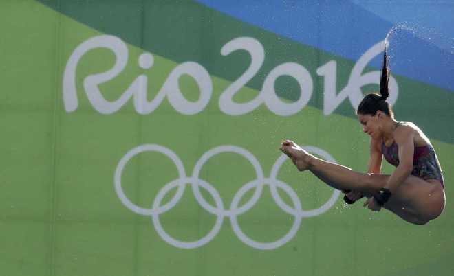 La brasileña Ingrid de Oliveira, durante los Juegos de Río.