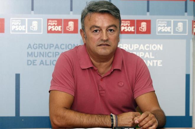 El secretario general provincial del PSPV, José Chulvi.