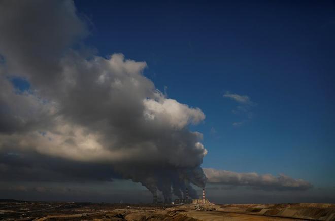 Central térmica de carbón de Belchatow, en Polonia.
