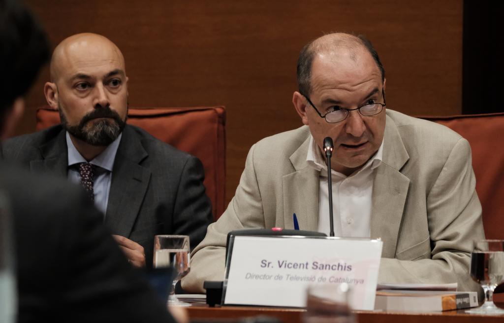 Gordillo y Sanchís en una imagen de archivo en el Parlament