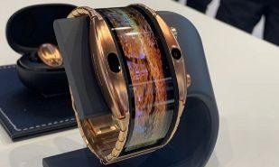 El móvil más raro del MWC parece un reloj de pulsera