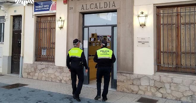 Tenencia de alcaldía del Grao de Castellón donde se ha entregado el prófugo.