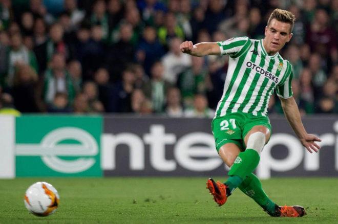 El jugador del Betis Giovani Lo Celso