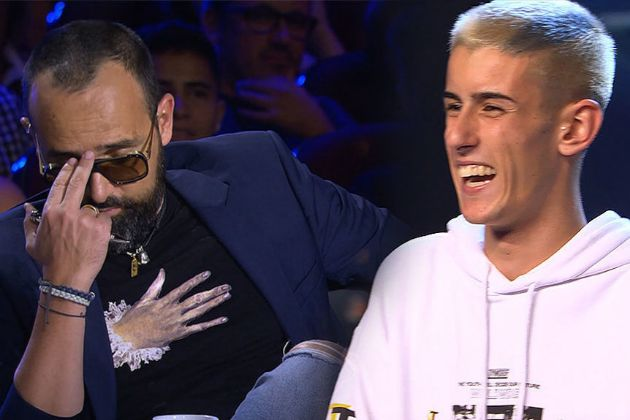 Risto Mejide, atónito ante el pase de oro de El Cejas en Got Talent en Telecinco