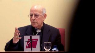 Ricardo Blázquez, presidente de la Conferencia Episcopal Española,...