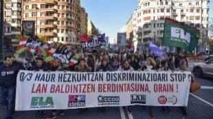 Los sindicatos tramitan la solicitud de otros diez días de huelga en la enseñanza concertada
