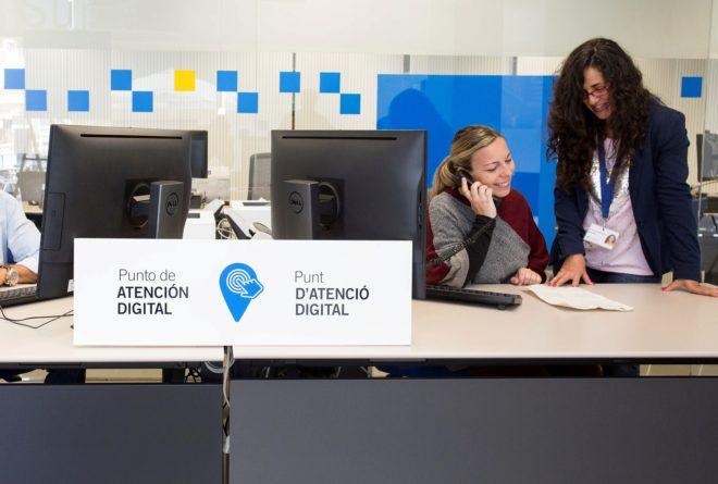 Una de las oficinas de Suma Gestión Tributaria de Alicante.