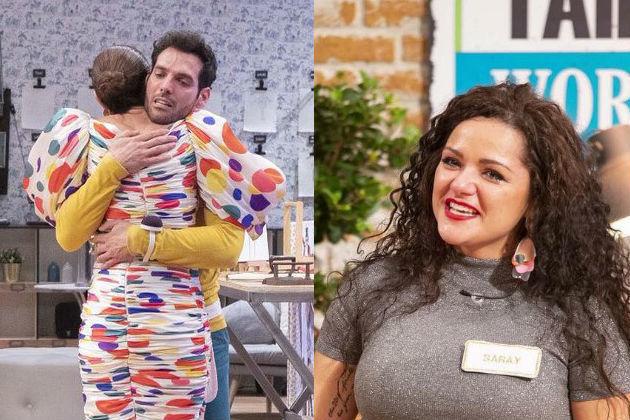 Alejandro y Saray abandonan Maestros de la Costura entre lágrimas