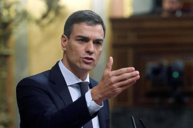 El secretario general de los socialistas, Pedro Sánchez.
