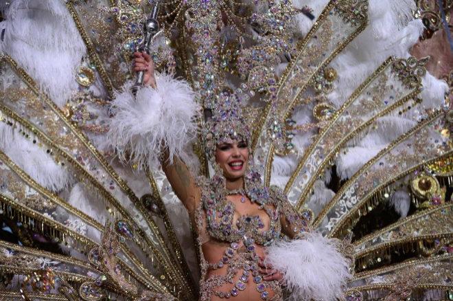 Priscila Medina Quintero, elegida Reina del Carnaval de Tenerife 2019