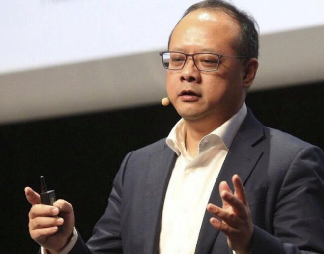 Vincent Pang, presidente de Huawei para Europa Occidental.