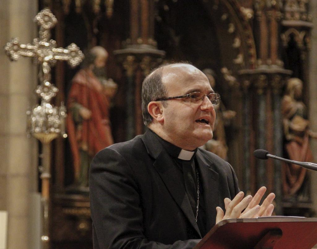 El obispo de San Sebastián, José Ignacio Munilla.