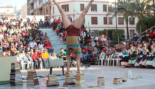 Una actuación de Magdalena Circus.