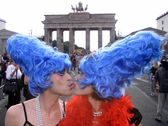 Imagen del Día del Orgullo Gay en Berlín.