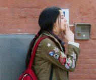 Victoria Federica, fotografiada fumando