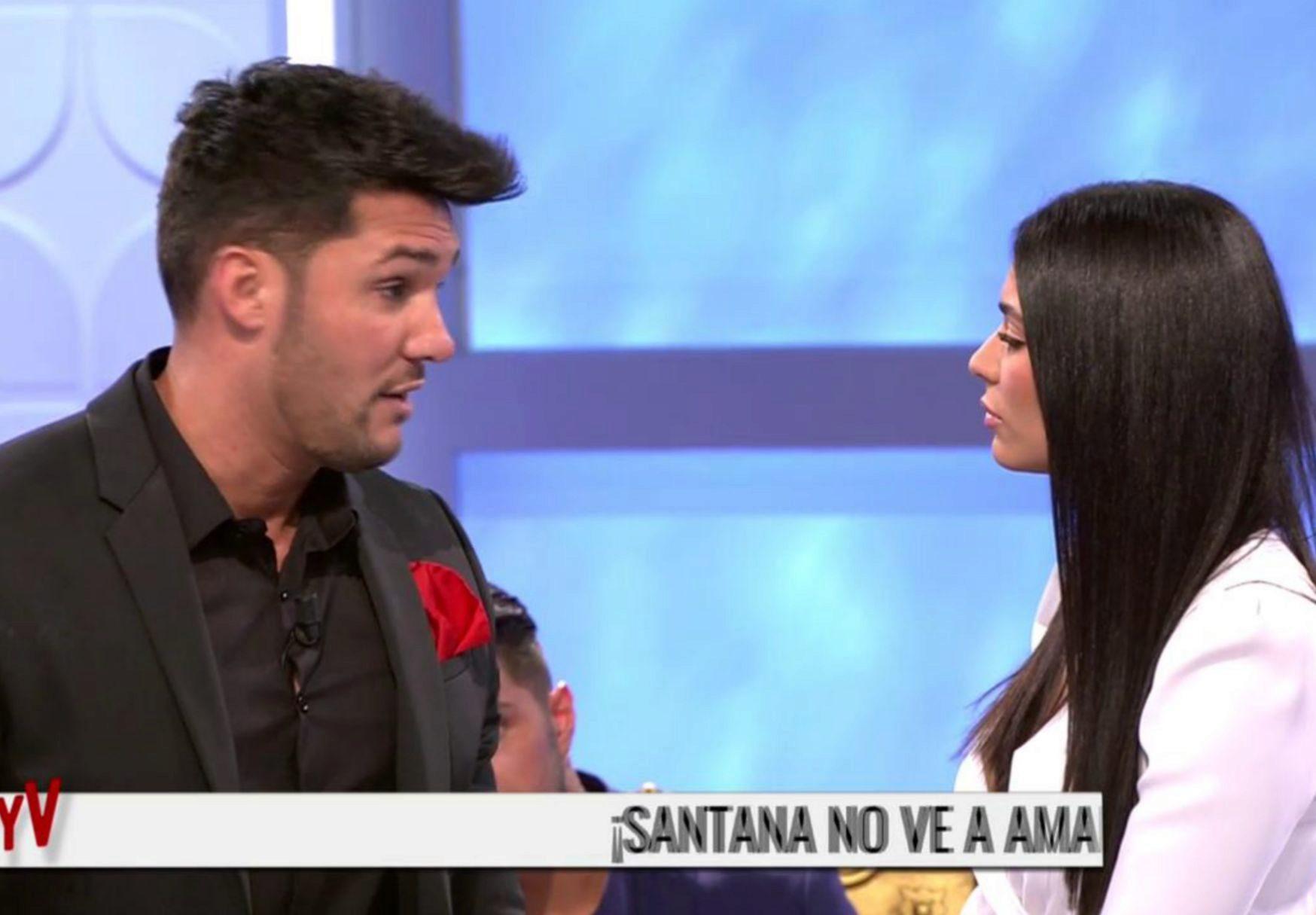 Amal se ha despedido de Santana en Mujeres y hombres y viceversa