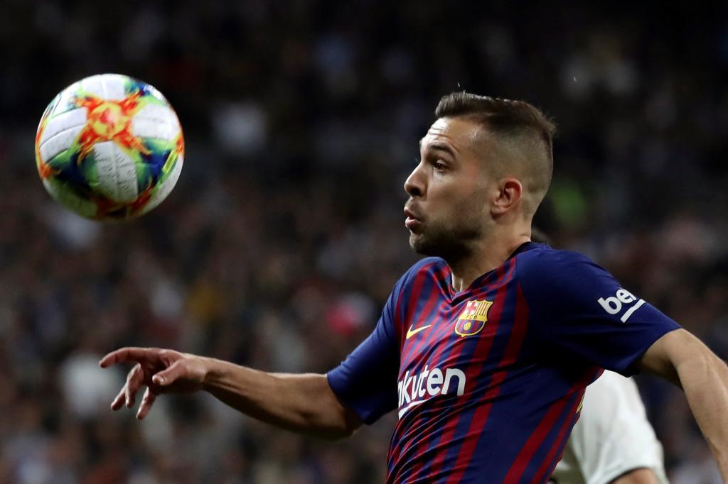 Jordi Alba, el mejor 'socio' de Messi, seguirá en el Barça hasta 2024