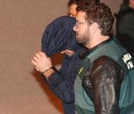 Uno de los detenidos por la Guardia Civil como autores materiales del crimen de Ardines.