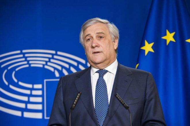 Antonio Tajani, presidente del Parlamento Europeo, en una imagen reciente.