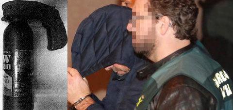 Combo de uno de los detenidos como autores materiales del crimen de...