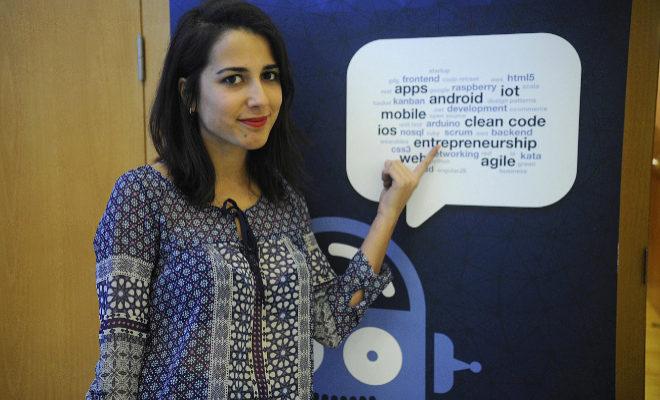 La castellonense Rocío Vidal impartió este jueves una charla en la UJI.