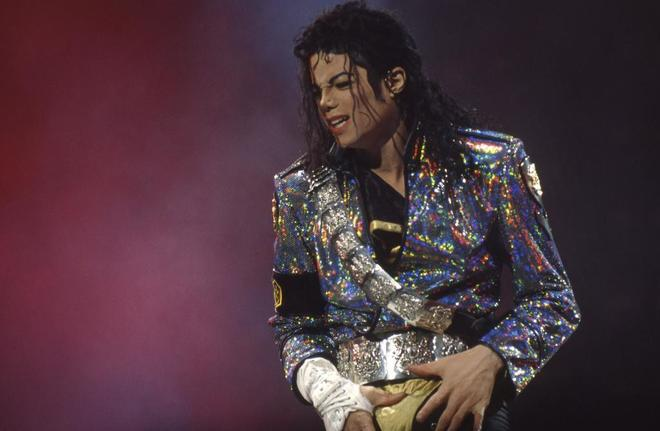 Michael Jackson, en una actuación dentro del 'Dangerous World Tour'.