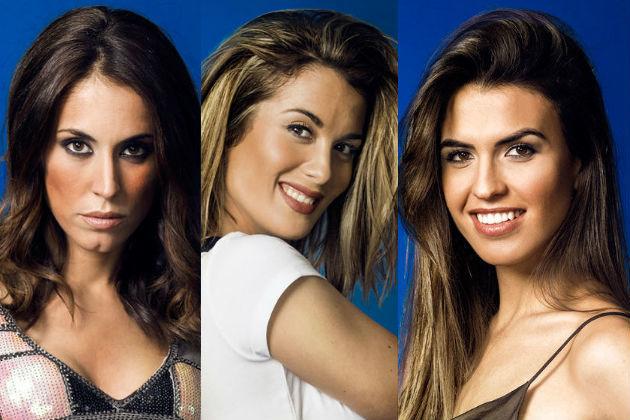 Raquel Lozano, Candela Acevedo y Sofía Suescun, concursantes de GH Dúo en Telecinco
