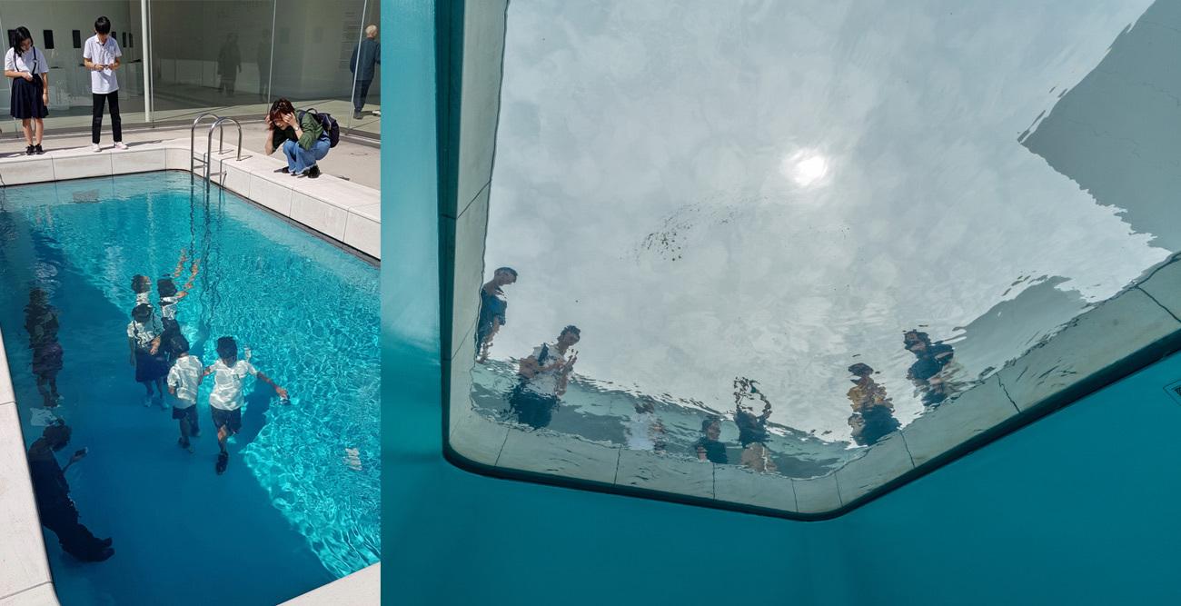 El artista argentino Leandro Erlich creó en 2004 esta instalación permanente para el <u>Museo de Arte Contemporáneo del Siglo XXI</u> de <strong>Kanazawa</strong>, en Japón, que es como la vida misma en Instagram: un poco falsa. Vista desde arriba, la piscina parece estar llena de agua pero, en realidad, se trata de una capa de sólo 10 centímetros sobre un cristal transparente. Bajo éste, hay un espacio vacío que los visitantes pueden recorrer. Y fotografiarse, claro.