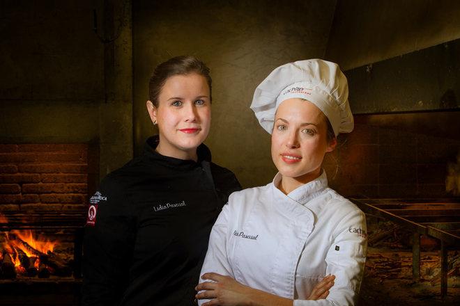 Las hermanas Noelia y Leticia Pascual.