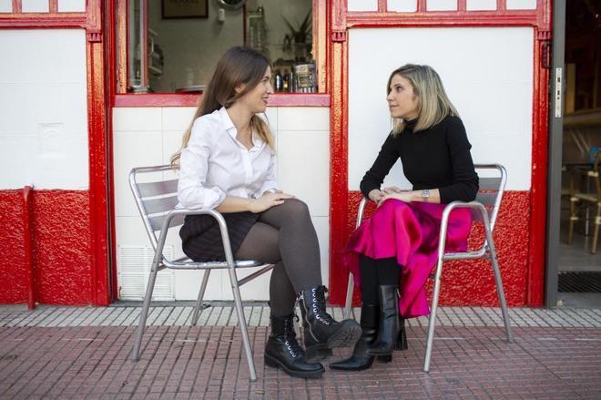 Nuria Labari y Karina Sainz Borgo.