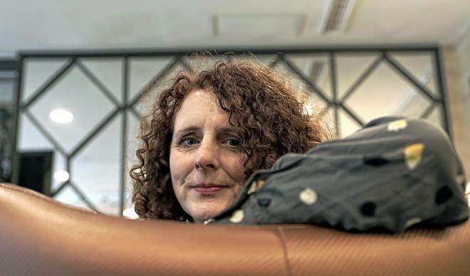 La escritora Maggie O'Farrell, la semana pasada en Barcelona.