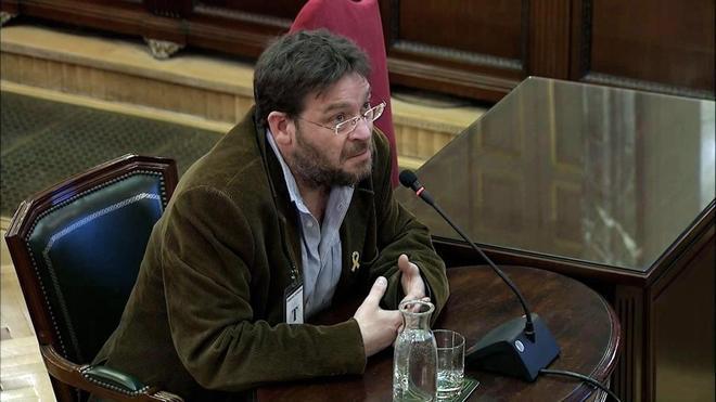 Albano Dante Fachin, ex secretario general de Podem, durante su...