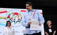 El líder chavista venezolano Nicolás Maduro, en Caracas.