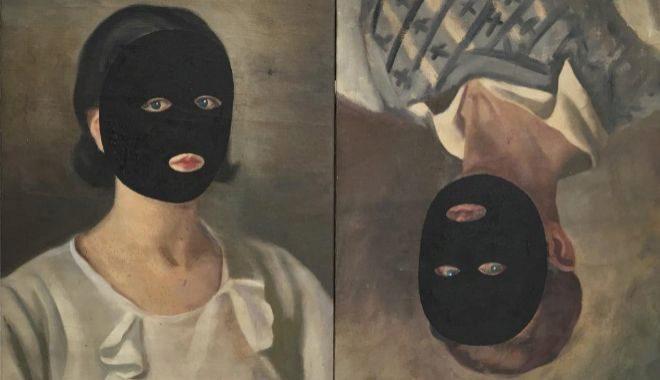 'El divorcio de Fantômas', obra del pintor Eduardo Arroyo.
