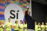 El actor Toni Albà, en un acto de la ANC