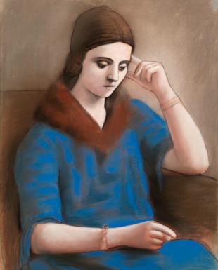 El Museo Picasso dedica su primera gran exposición a Olga,  la primera esposa del pintor
