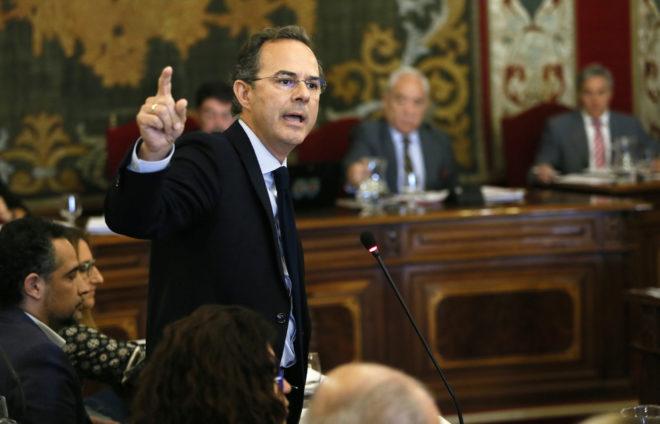 Carlos Castillo (PP), concejal de Hacienda de Alicante.