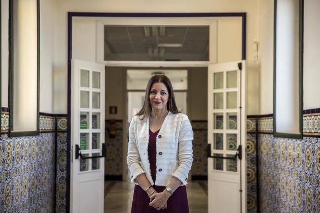 La consejera de Políticas Sociales y Familia de Madrid, Lola Moreno.